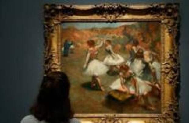 Выставка Дега открылась в Париже