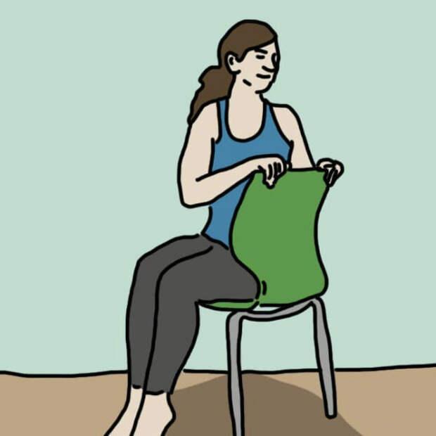Упражнение №4: Повороты корпуса работа, советы