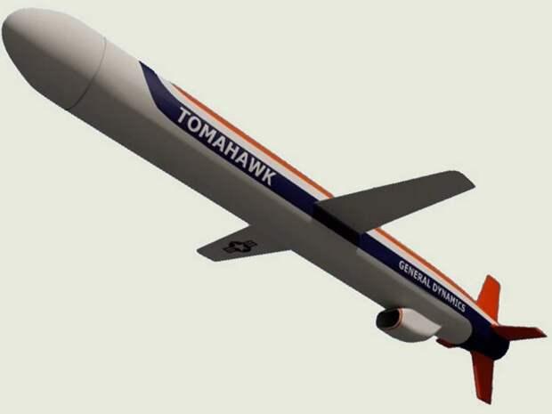 """Крылатая ракета """"Томагавк"""", США. Источник изображения:"""