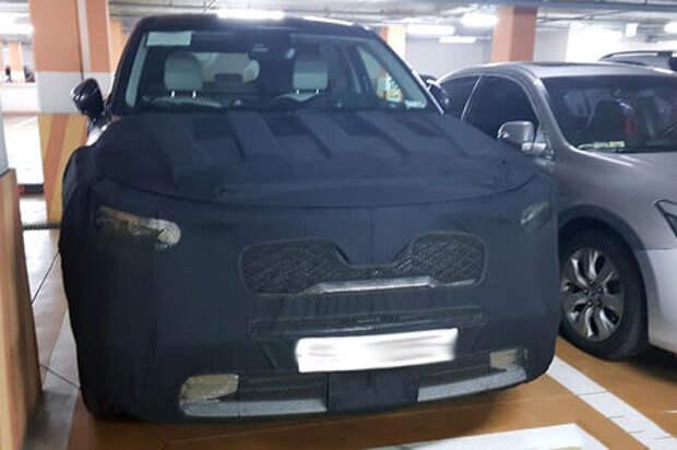 Новый Kia Sorento: первые фото и информация