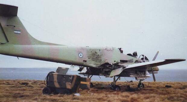 Служба и боевое применение аргентинских турбовинтовых штурмовиков IA.58A Pucara