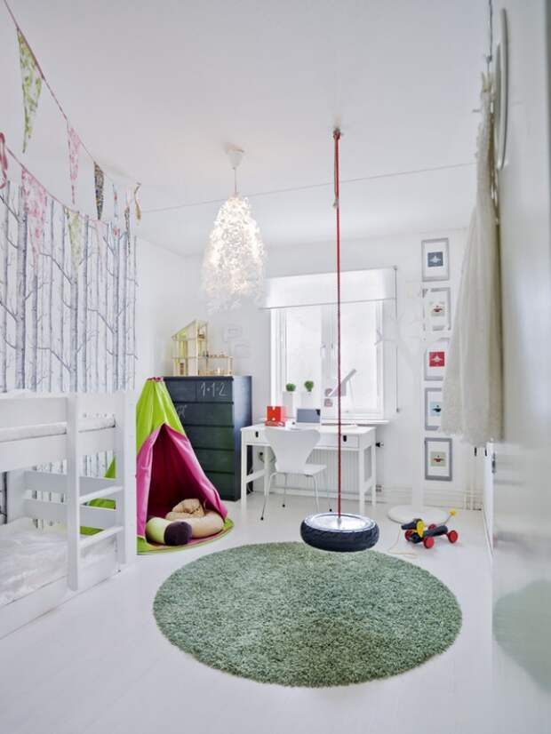 Детская площадка в доме (идеи)