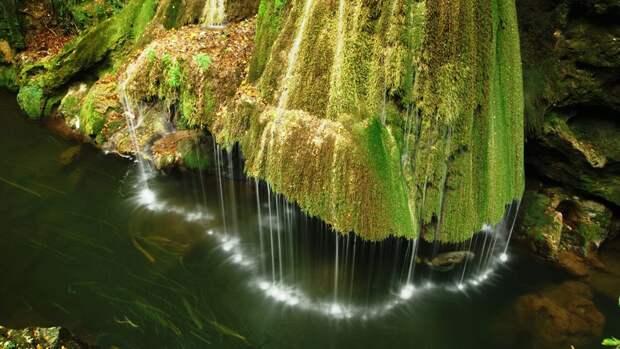Еще одно чудо природы - водопад Бигар