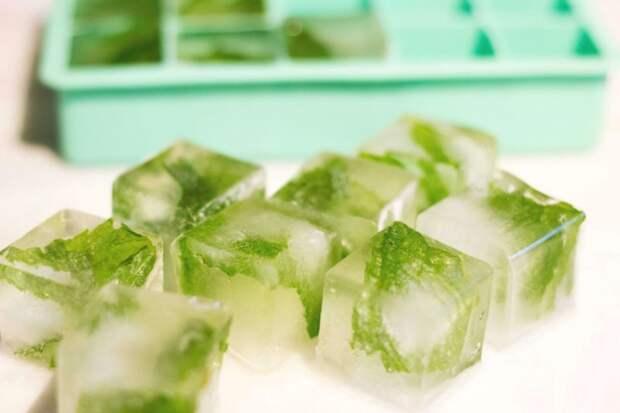 Не избитые способы использования кубиков льда на все случаи жизни