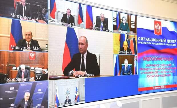 Путин: Парад Победы в Москве 9 мая не состоится из-за коронавируса