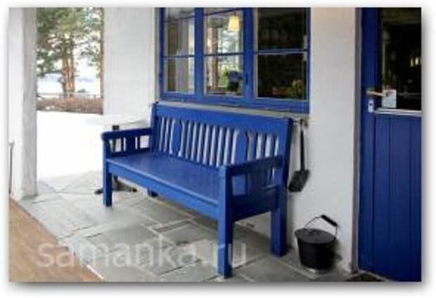 Деревянные скамейки для дачи фото 5 Увеличить
