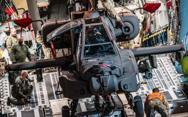 Apache AH-64E знаменует начало новой эры для британской военной авиации