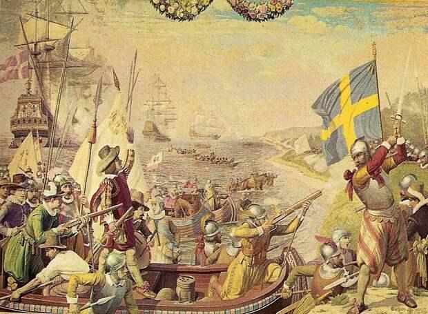 Эпизод Кальмарской войны между Данией и Швецией, 1611 год - Датский флот Нового времени: пороки и успехи   Warspot.ru
