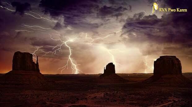 Неукротимая красота природы в фотографиях гроз и штормов