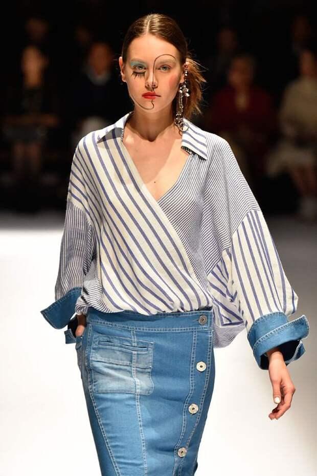 Необычные детали блузок