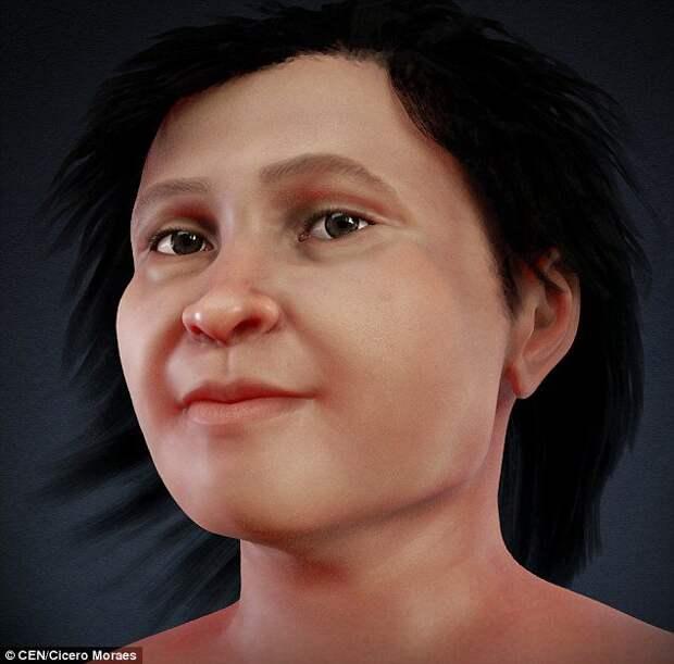 Ева из Нахарона: Ученые показали, как выглядела женщина 14 тысяч лет назад.