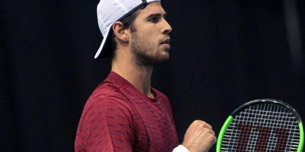 Хачанов преодолел первый круг турнира в Гамбурге
