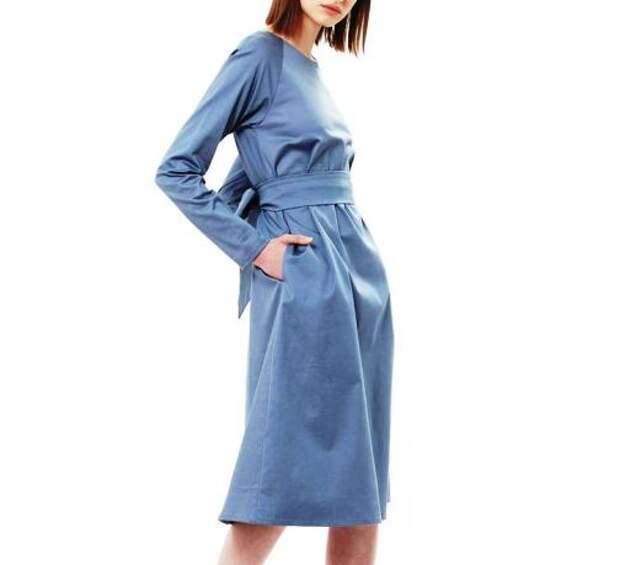 Базовые платья, в которых хочется провести осень -- обзор