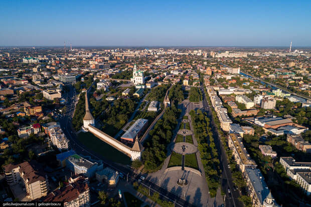 Астрахань с высоты — каспийские ворота России