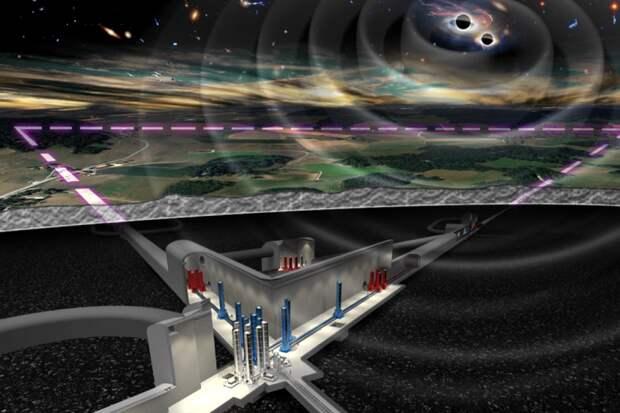 Европейские эксперты поддержали строительство новой огромной гравитационной обсерватории