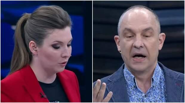 Скабеева одной фразой заставила Окару признать Крым и замолчать
