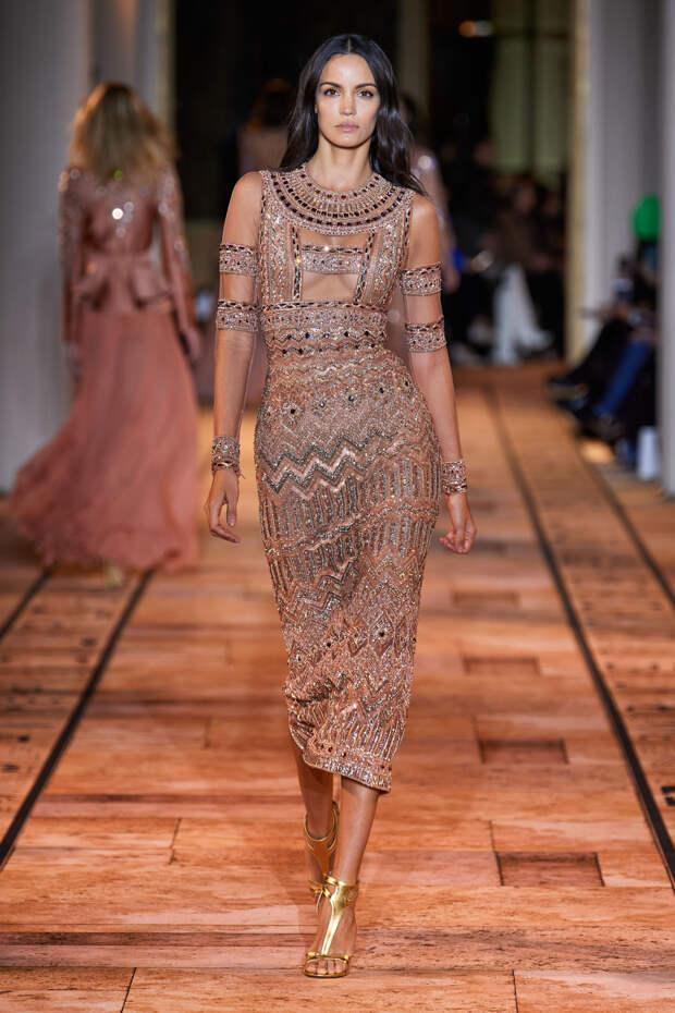 Новая коллекция Zuhair Murad как ода древнеегипетским царицам - фото 42