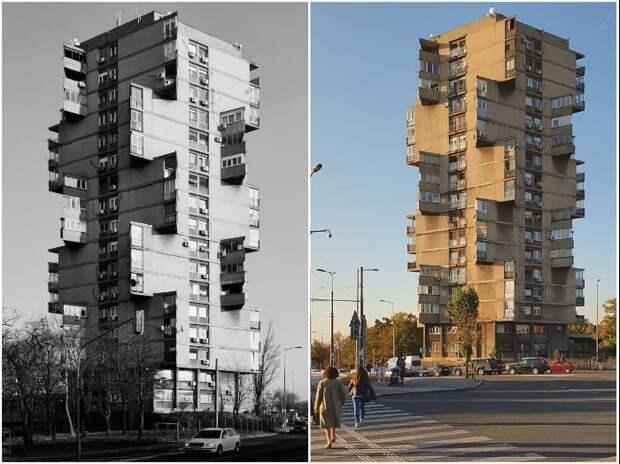 Эпическая архитектура в стиле «Звездных войн» в самом центре Белграда