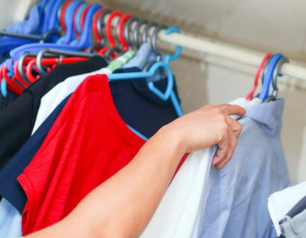 Эксперимент с одеждой.