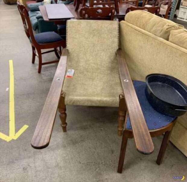 Что за дурацкое кресло?