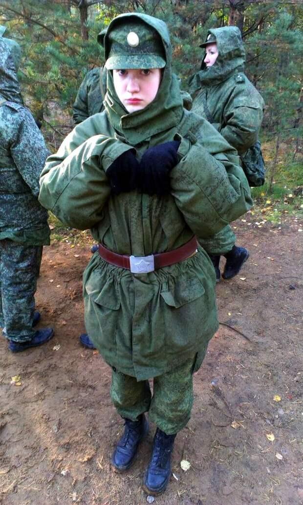 От тайги до британских морей ... : Лица девушек из Российской армии (44)