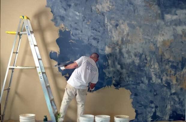 Как декорировать стену