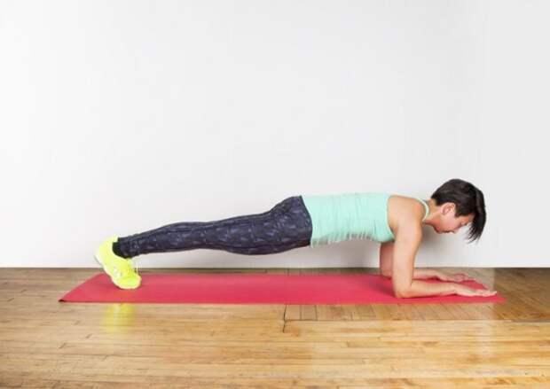 План упражнения для живота, который работает все мышцы вашего тела