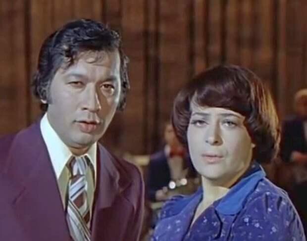 Алла Иошпе и Стахан Рахимов. / Фото: www.russian-retro.com