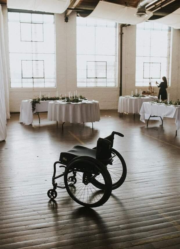 Парализованная невеста изумила всех гостей на свадьбе своим удивительным поступком