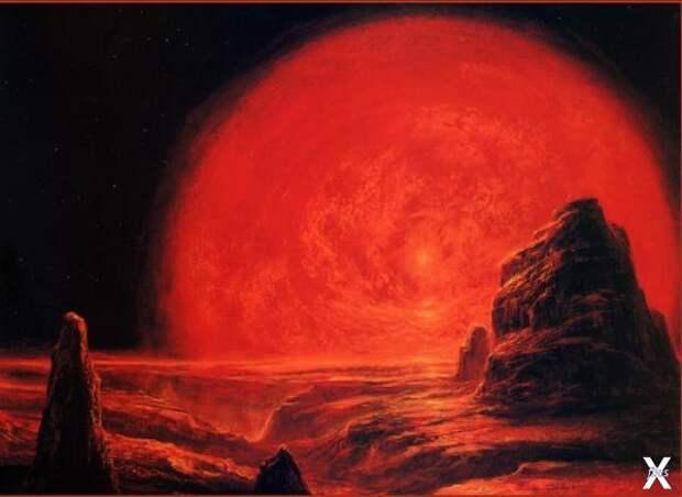 Будущее Земли, когда Солнце станет кр...