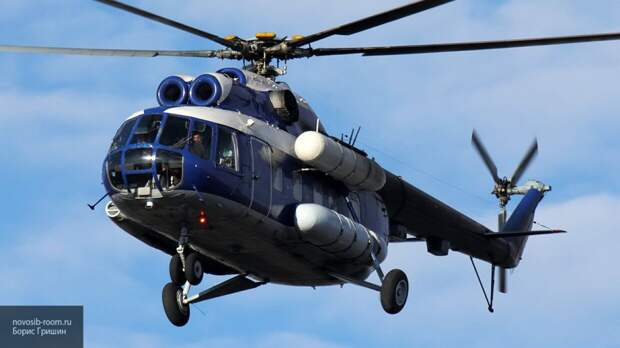 Вертолет Ми-8 совершил жесткую посадку в Магаданской области