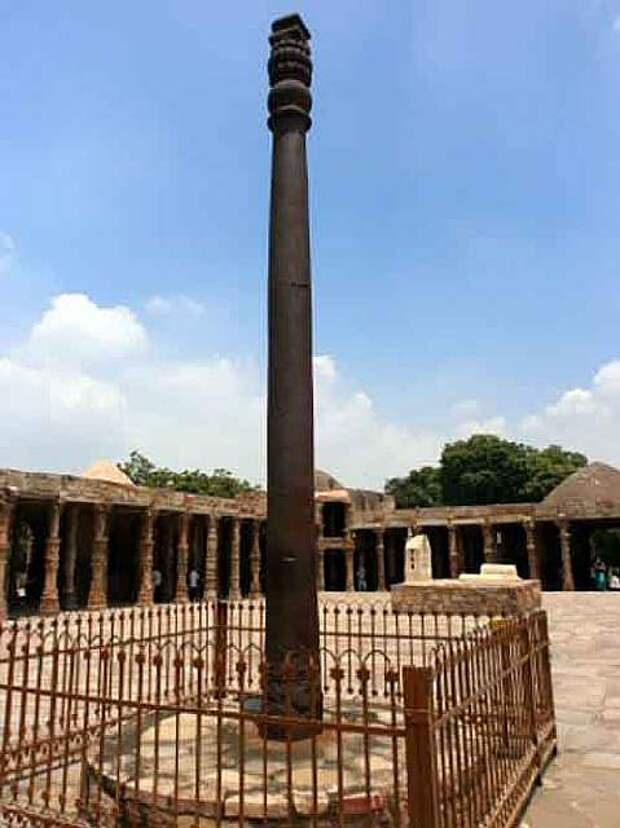 Загадка железной колонны Индии