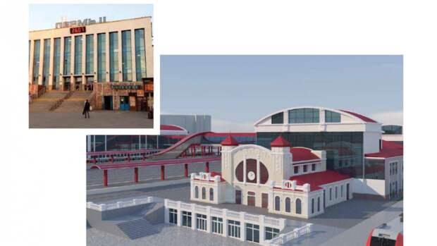 Проект  нового ж/д вокзала Перми представили зампреду правительства РФ