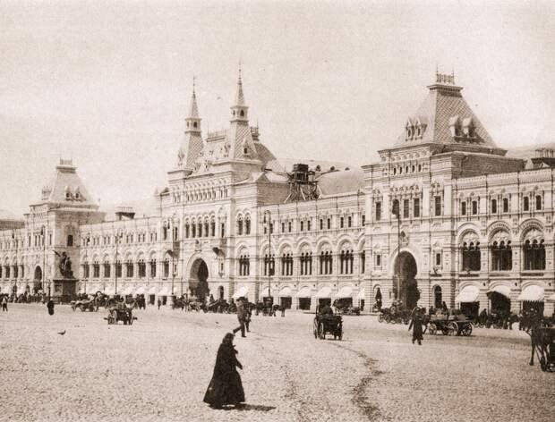 Как строили главный магазин России СССР, гум, история, магазин, москва, строительство, торговля
