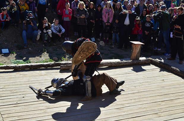 второй рыцарский турнир «Меч средневековья»