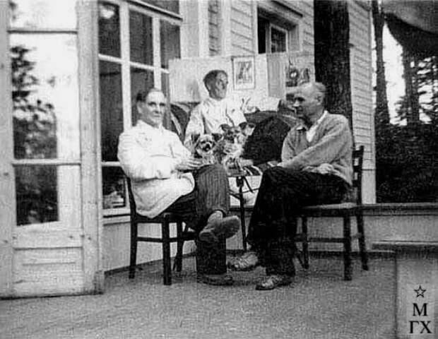 Чем занимались советские знаменитости на подмосковных дачах, ч.1