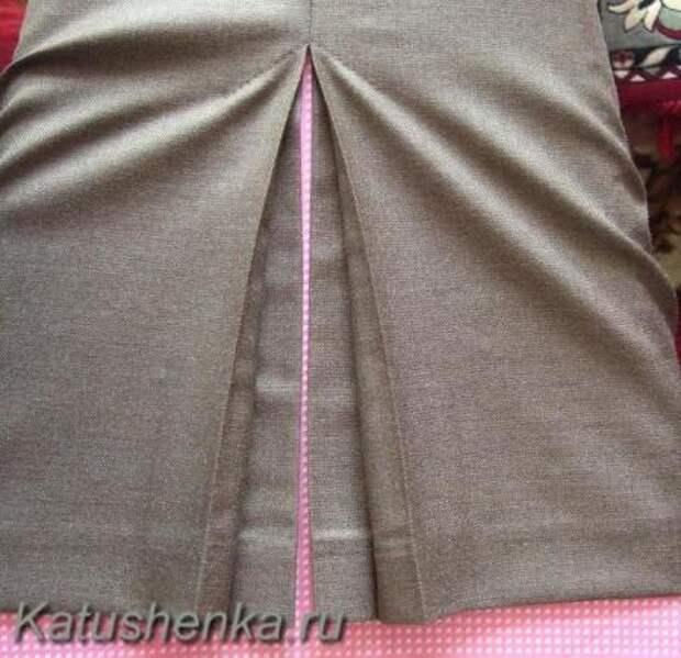 Обработка веерной складки