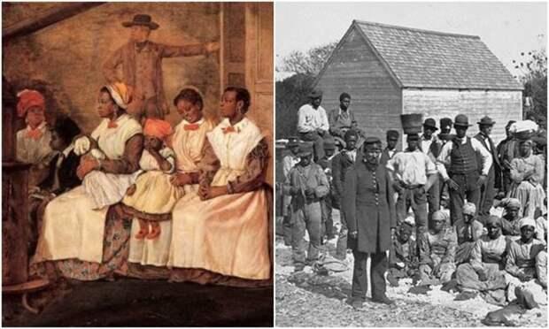 10 ложных представлений о рабстве вСША
