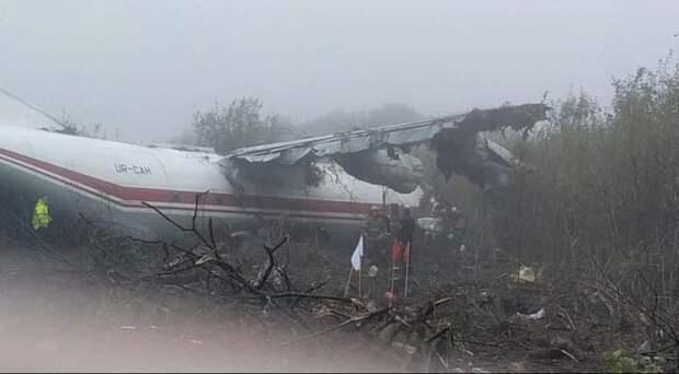 Не хватило топлива: число погибших при посадке самолета во Львове достигло 5 человек