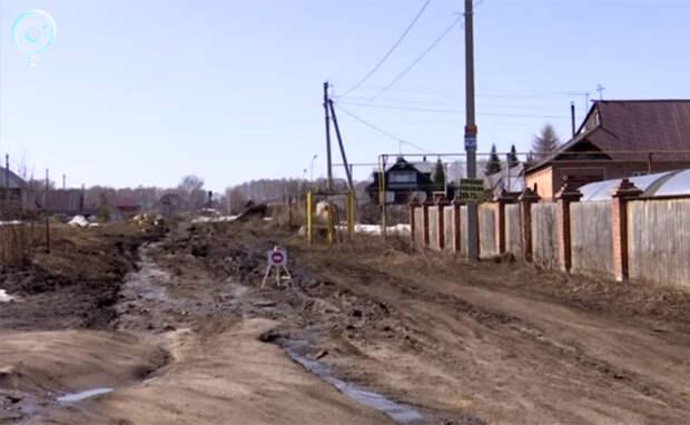 «Скорая» застряла в грязи на пути к умирающему ребенку в Искитимском районе