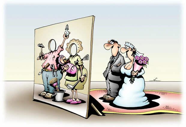 О браке в браке