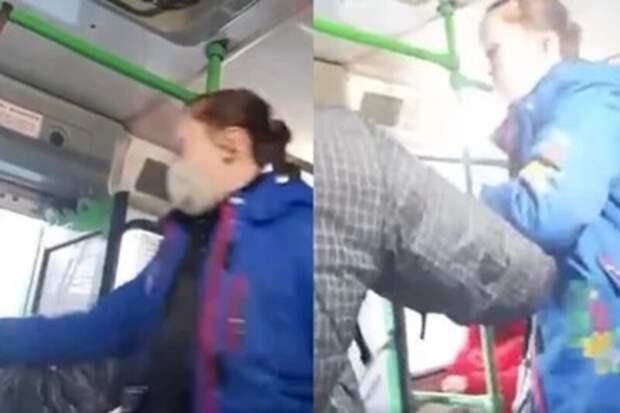 «Ятебе лицо раздеру»: мать девочки, высаженной изавтобуса, решила разобраться скондуктором