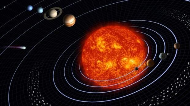 Солнце рождает новые планеты