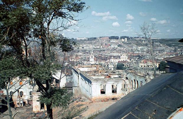 1942. Вид с Соборной горы на Заднепровье