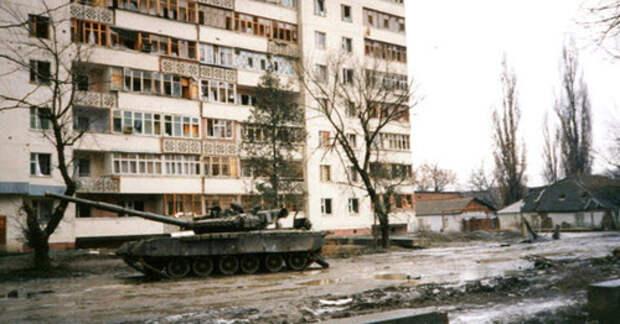 Бои за Грозный. Кадр пользователя Vladimir Varfolomeev https://www.flickr.com
