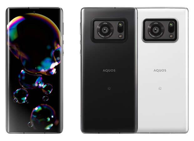 Смартфон, напичканный технологиями: Sharp представила AQUOS R6 с 1-дюймовым датчиком камеры, экраном на 240 Гц, чипом Snapdragon 888 и сканером Qualcomm 3D Sonic Max