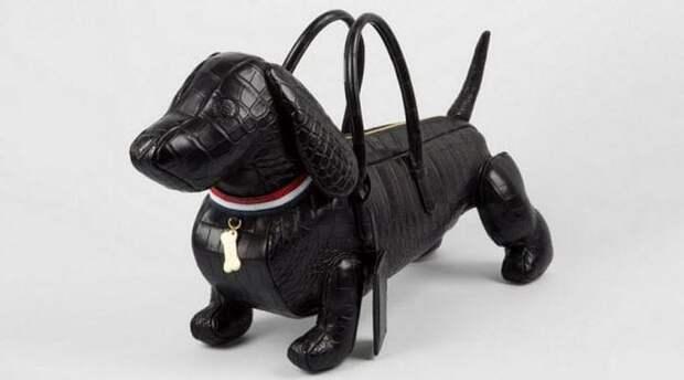 Сумка-собака Тома Брауна.