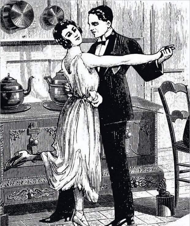 Что такое играть в бирюльки с затрапезным видом, танцуя от печки