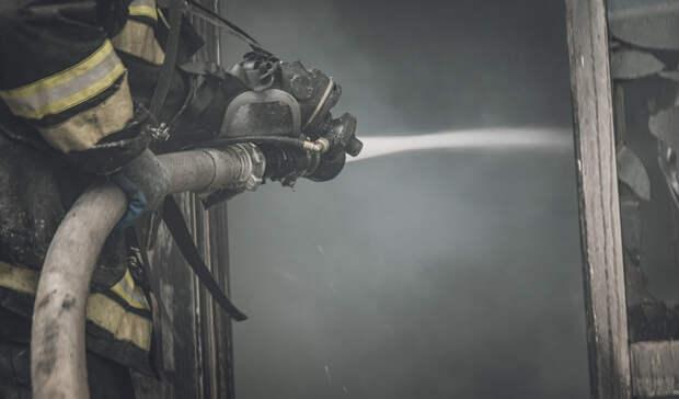 На пожаре в Тоцком районе сгорел человек