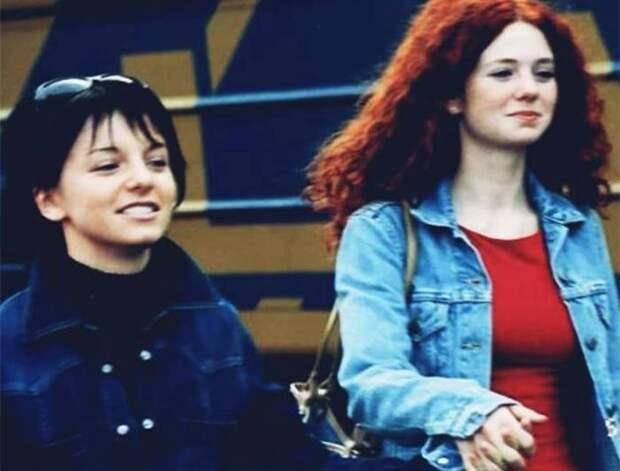 Лена Катина и Юля Волкова в начале своего творческого пути | Фото: teleprogramma.pro